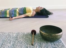 Relaxation with Singing Bowls
